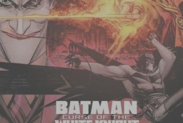 Batman, release date and first tables of the Curse of the White Knight