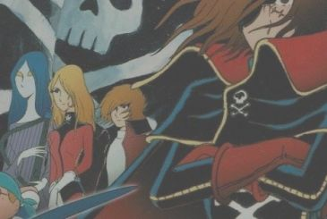 Captain Harlock, new edition home video for the first animated series