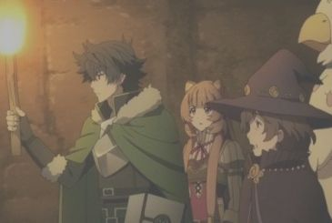 The Rising of the Shield Hero, the episode 17 in a world preview at the Comicon