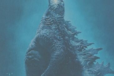 Godzilla II – King of the Monsters, the official poster for the Italian