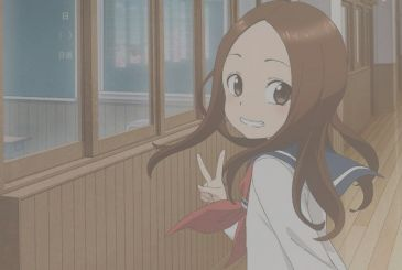 Karakai Jouzu no Takagi-san, the new visual for the second season