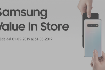 Samsung Value supervaluta iPhone X up to 500€ for a S10