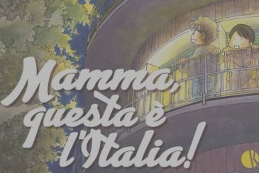 Mom, this is Italy! – arrival in the new comic Keiko Ichiguchi