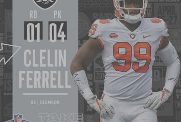 The Draft 2019 of the Oakland Raiders