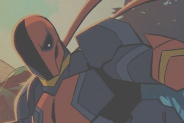 Deathstroke: the animated series on The CW Seed