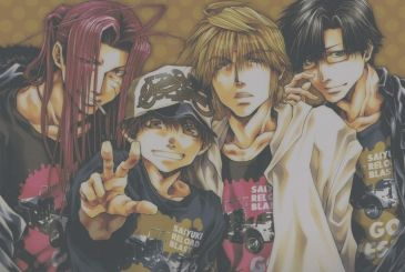 Saiyuki Reload Blast, cover and page color for the resumption of the manga