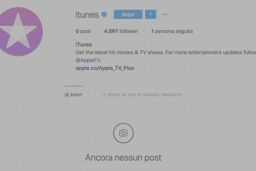 Apple removes all contents of the pages social of iTunes on Facebook and Instagram