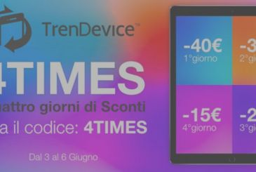 4 days of Discounts of up to 40€ on Smartphones and Tablets Reconditioned TrenDevice.