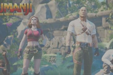 Jumanji: the trailer of the video game inspired by the reboot