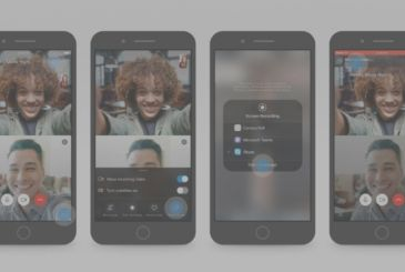 Skype for iOS supports screen sharing with mobile devices