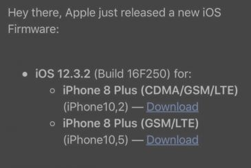 Apple releases iOS 12.3.2, but only for the iPhone 8 and iPhone 8 Plus