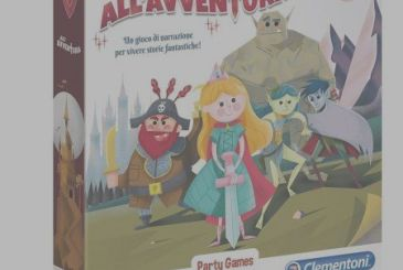 The Adventure with the kids – It's Family RPG weblog Clementoni!