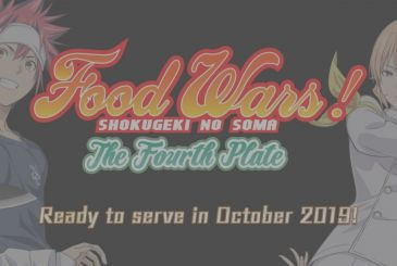 Food Wars! Shokugeki no Soma: the first teaser video of the fourth season