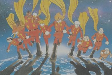 Cyborg 009, announced the manga Bgooparts Delete
