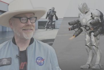 Iron Man: Adam Savage (Mythbusters) has built a suit of armor working