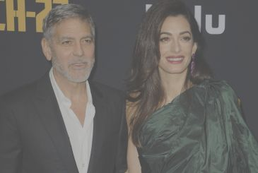 George Clooney and Amal Alamuddin: romantic dinner in Venice