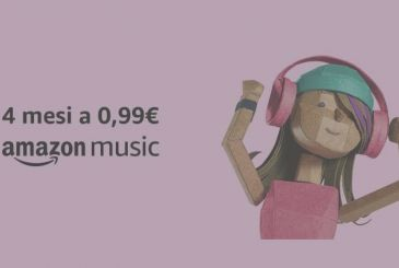 Amazon Music Unlimited: 4 months at just 0,99€ for users First