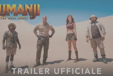 Jumanji: The Next Level – the first trailer