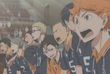 Haikyu!! The Ace of the Volleyball is back on tv with the three animated series