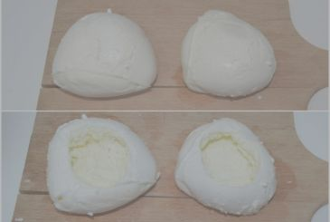 Mozzarella stuffed