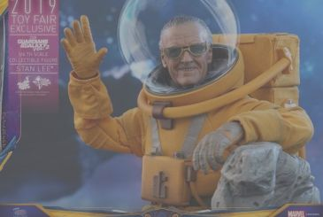 Guardians of the Galaxy: the figures of Stan Lee