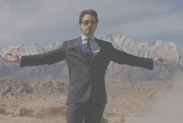 Robert Downey Jr. it takes the distances from Iron Man