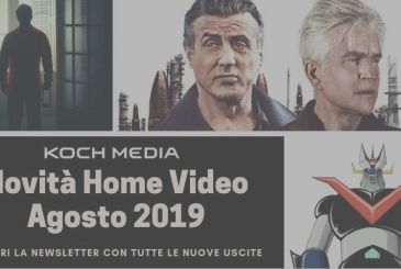 Koch Media: all home video releases of August 2019