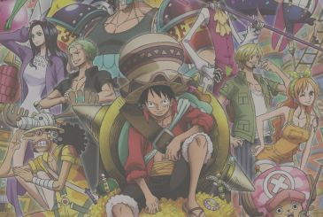 The One Piece Magazine: cover and contents of the 7th volume