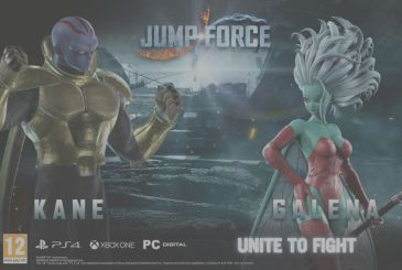 Jump Force: on arrival, free of charge, Galena and Kane as a playable character
