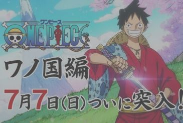 One Piece, the next few episodes of the anime will be linked to the movie Stampede