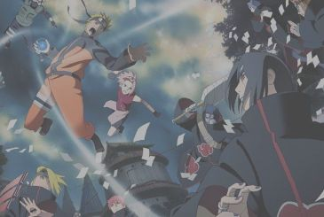 Naruto: poster and commentary by Masashi Kishimoto for the next 20 years