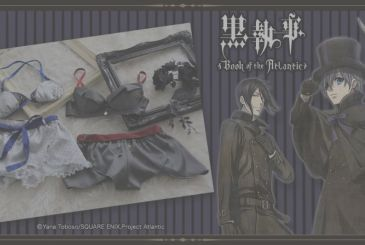 Black Butler – Kuroshitsuji, SuperGroupies launches lingerie theme