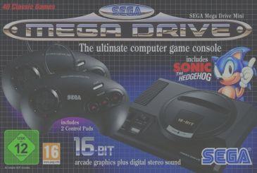 Sega Mega-Drive Mini, slide the release date in Europe