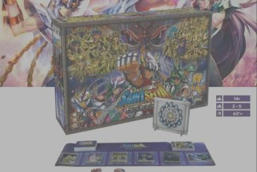 Saint Seiya – Knights of the Zodiac Deckbuilding board game in Italy by 3 Emme Games