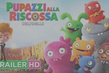 Puppets to the rescue – Ugly Dolls: the official trailer ITALIAN