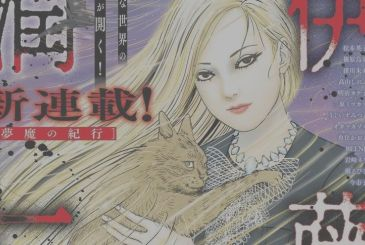 By junji Ito concluded the Travelogue of the Succubus