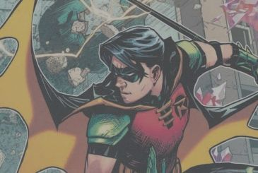 Young Justice: the new costume, Tim Drake (Robin)