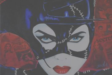 Catwoman: the new provocative costume