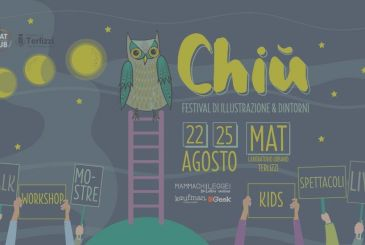 CHIÙ – Festival of illustration and the surrounding area: in Terlizzi (Ba) from 22 to 25 August
