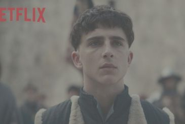 The King: the first teaser for the movie on Netflix with Timothée Chalamet