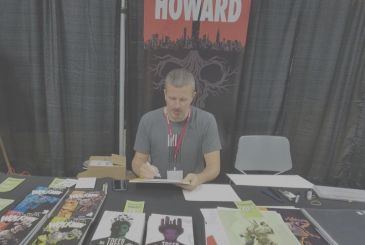SaldaPress: Jason Howard guest at the Treviso Comic Book Festival 2019