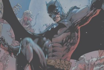 Batman has a cameo appearance in Marvel Comics #1000