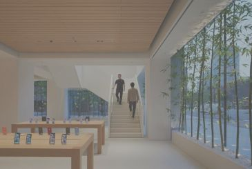 Here is a preview of the new Apple Store in Tokyo