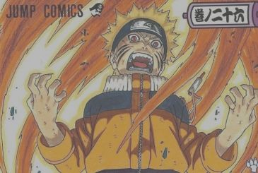 Naruto: the picture of Masashi Kishimoto for the 20 years of the manga