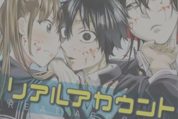 Real Account, the date of the conclusion of the manga