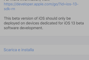 Apple releases iOS 13 GM and iOS 13.1 beta 3 for developers
