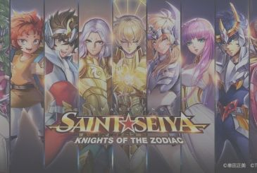 Saint Seiya Awakening – Knights of the Zodiac, available the all-new mobile game about the Knights