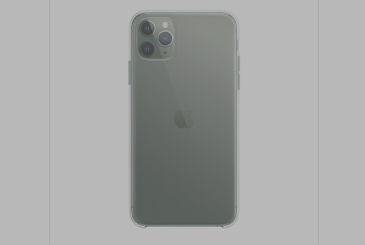For the 3 new iPhone 11, Apple has built new enclosures transparent TPU 45€