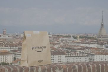 Amazon Prime Now arrives in Turin with Pam Panorama. Deliveries in windows of two hours on more than 7,000 products