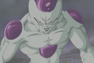 Dragon Ball: the fifth evolution of the Freezer in a fan-art